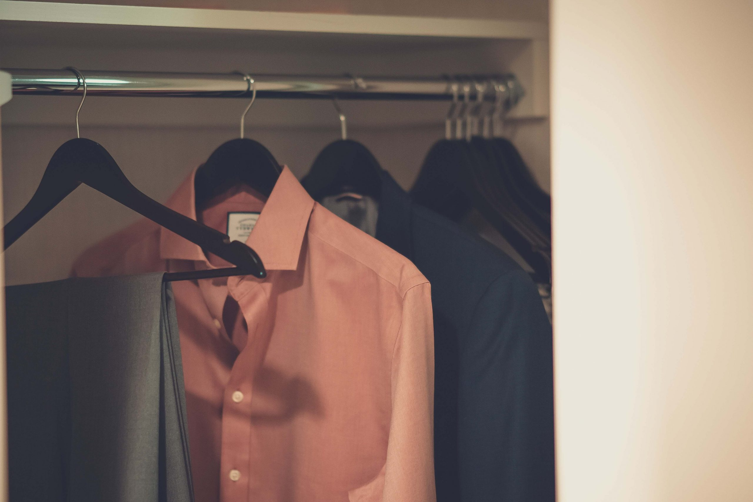 packing up your closet